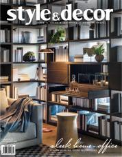 Style & decor Magazine Cover November 2017