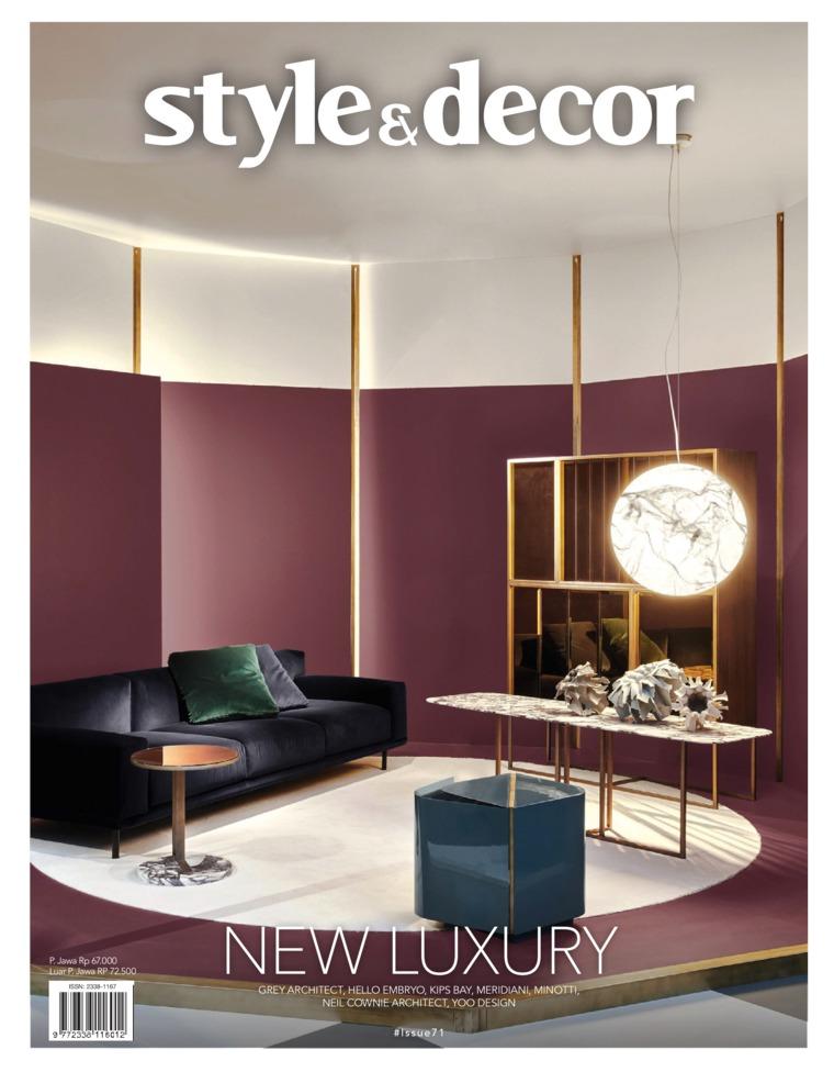 Style & decor Digital Magazine ED 71 July 2019