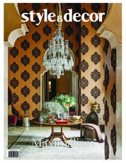 Style & decor Magazine Cover February 2018