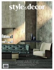 Style & decor Magazine Cover April 2018