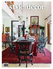 Style & decor Magazine Cover August 2018