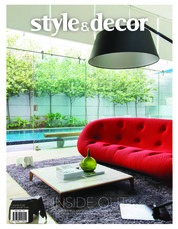 Style & decor Magazine Cover September 2018