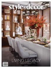 Style & decor Magazine Cover ED 72 October 2019