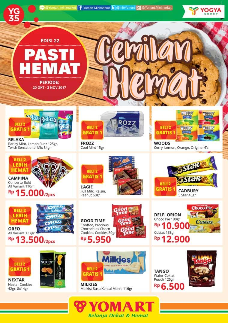 Pasti HEMAT YOMART Digital Magazine ED 22 October 2017