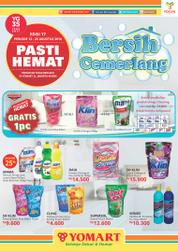 Pasti HEMAT YOMART Magazine Cover ED 17 August 2016