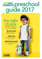Young Parent Pre-School Guide Magazine Cover 2017