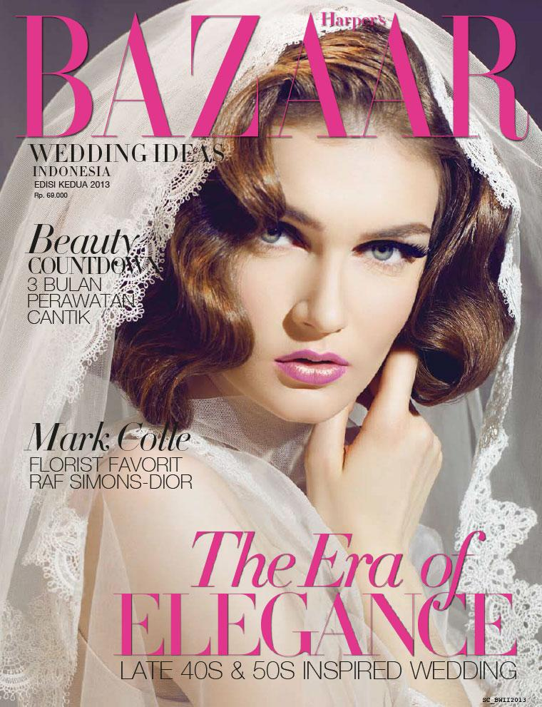 Majalah Digital Harper's BAZAAR WEDDING IDEAS Indonesia ED 02 2013