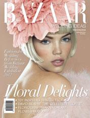 Harper's BAZAAR WEDDING IDEAS Indonesia Magazine Cover ED 02 2012