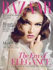 Cover Majalah Harper's BAZAAR WEDDING IDEAS Indonesia ED 02 2013