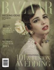 Cover Majalah Harper's BAZAAR WEDDING IDEAS Indonesia ED 01 2014