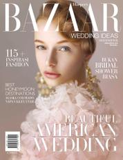 Cover Majalah Harper's BAZAAR WEDDING IDEAS Indonesia ED 02 2014