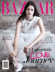 Cover Majalah Harper's BAZAAR WEDDING IDEAS Indonesia ED 01 2016