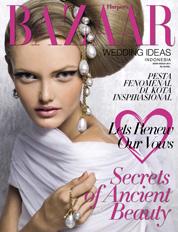 Harper's BAZAAR WEDDING IDEAS Indonesia Magazine Cover ED 02 2011