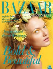 Harper's BAZAAR WEDDING IDEAS Indonesia Magazine Cover May–October 2011