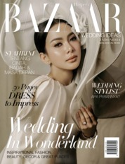 Cover Majalah Harper's BAZAAR WEDDING IDEAS Indonesia ED 01 September 2019