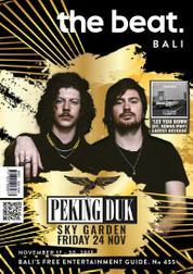 The beat Magazine Cover ED 455 November 2017