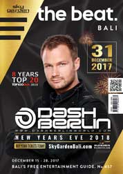 The beat Magazine Cover ED 457 December 2017