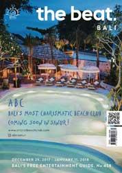 The beat Magazine Cover ED 458 December 2017