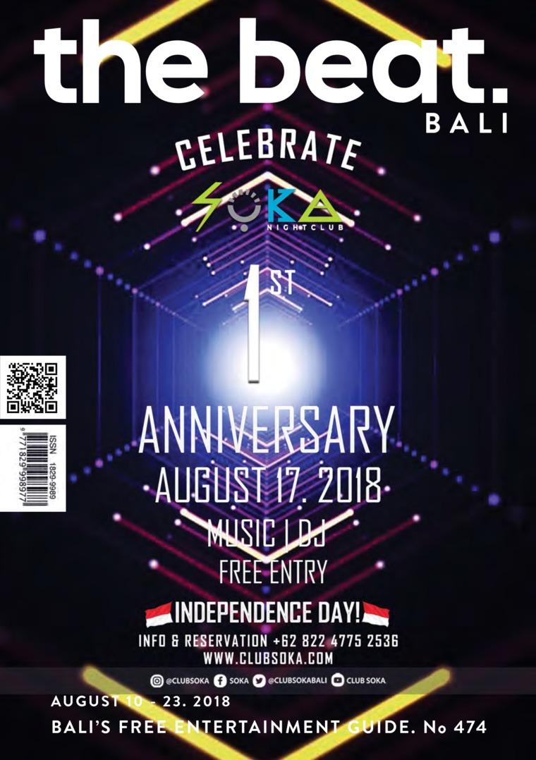 Majalah Digital the beat ED 474 Agustus 2018