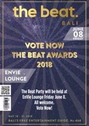 Cover Majalah the beat ED 468 Mei 2018