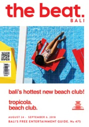 Cover Majalah the beat ED 475 Agustus 2018