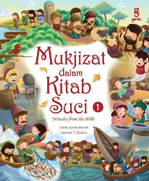 Buku Digital Mukjizat dalam Kitab Suci 1 bilingual book oleh Yovita Siswati