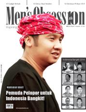 Men's Obsession ED Tahunan Magazine Cover 2014