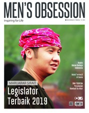 Men's Obsession ED Tahunan Magazine Cover March 2019