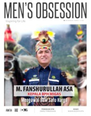 Cover Majalah Men's Obsession ED Tahunan