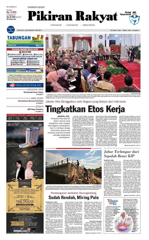Koran Digital Pikiran Rakyat 19 Mei 2017
