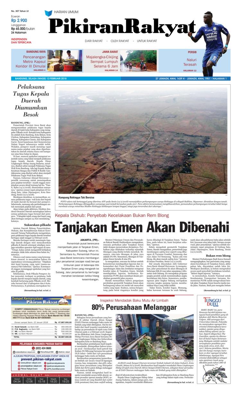 Koran Digital Pikiran Rakyat 13 Februari 2018