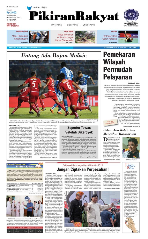Koran Digital Pikiran Rakyat 24 September 2018