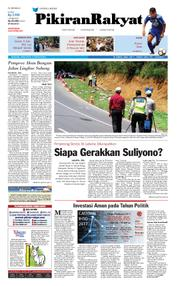 Cover Pikiran Rakyat 12 Februari 2018