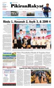 Cover Pikiran Rakyat 14 Februari 2018
