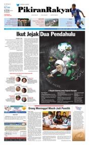 Cover Pikiran Rakyat 15 Februari 2018