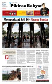 Cover Pikiran Rakyat 18 Februari 2018