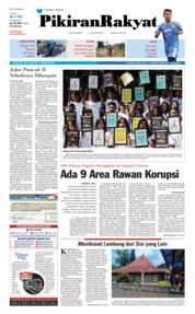 Cover Pikiran Rakyat 19 Februari 2018