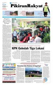 Cover Pikiran Rakyat 20 Februari 2018