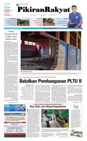 Cover Pikiran Rakyat 22 Februari 2018