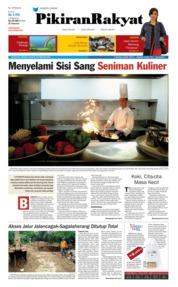 Pikiran Rakyat Cover 25 February 2018