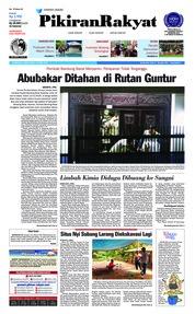 Cover Pikiran Rakyat 13 April 2018