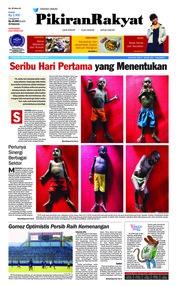 Cover Pikiran Rakyat 15 April 2018