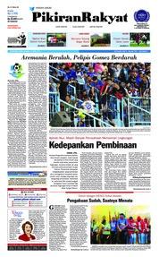 Cover Pikiran Rakyat 16 April 2018