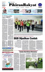 Cover Pikiran Rakyat 18 April 2018