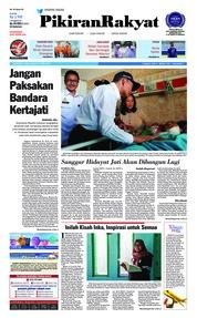 Cover Pikiran Rakyat 19 April 2018