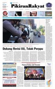 Cover Pikiran Rakyat 15 Mei 2018