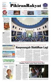 Cover Pikiran Rakyat 17 Mei 2018