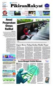 Cover Pikiran Rakyat 18 Mei 2018