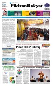Cover Pikiran Rakyat 19 Mei 2018