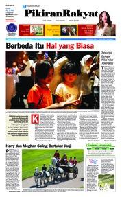 Cover Pikiran Rakyat 20 Mei 2018